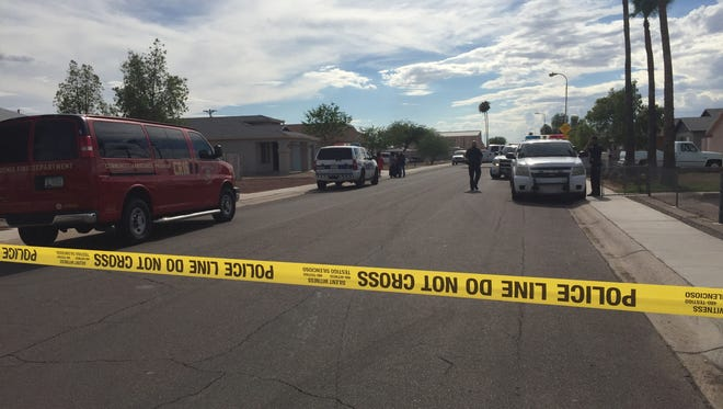 A 1-year-old boy died July 29, 2017, after being left in the car for hours, according to Phoenix fire officials.