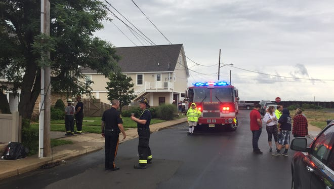 A house fire on Waterwitch Avenue was under investigation August 7.