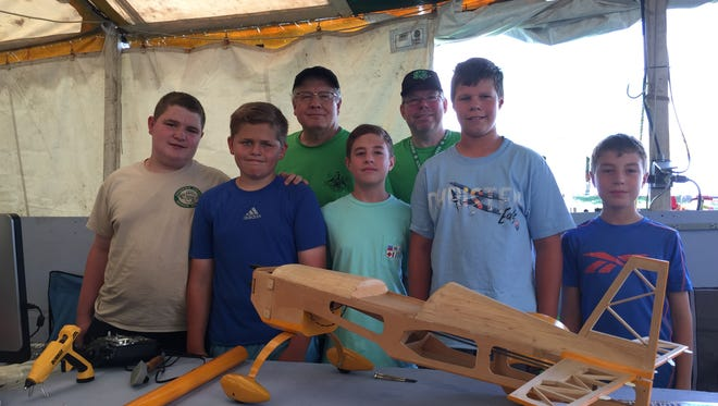 The Broken Props Airplane Club at the Somerset County 4-H Fair.