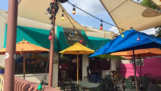 Baja Burrito is located at 722 Thompson Lane in Nashville.