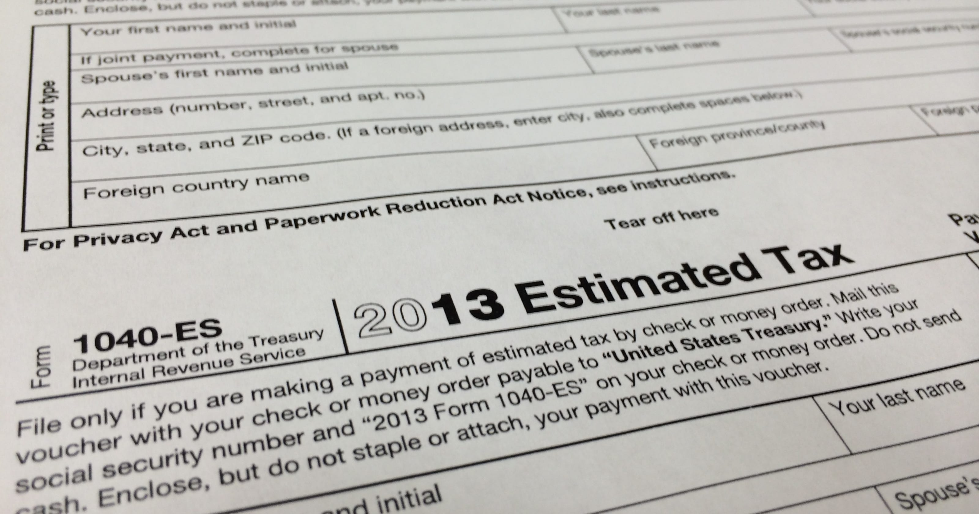 Irs Penalizes More Earners For Mistakes Underpayment In Estimated