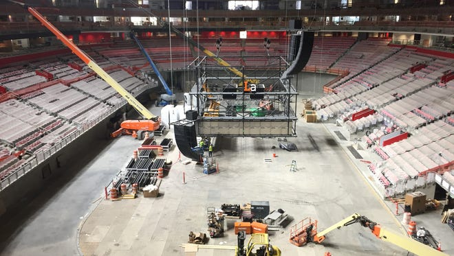 Olympia Entertainment announces a series of Preview Week events leading up to the opening of Little Caesars Arena on Sept. 12, 2017.