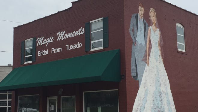 The former Magic Moments building on North Wabash Avenue is being eyed for a brew pup called Maiden's.