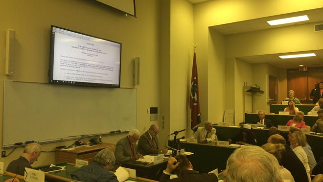 The Madison County Commission met for its monthly meeting Monday night.