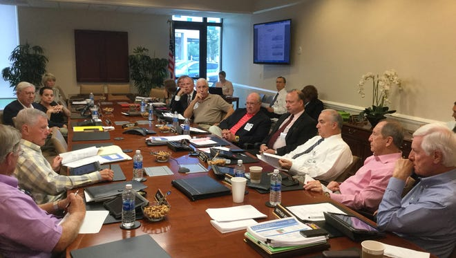 Indian River Medical Center Board of Directors meeting.