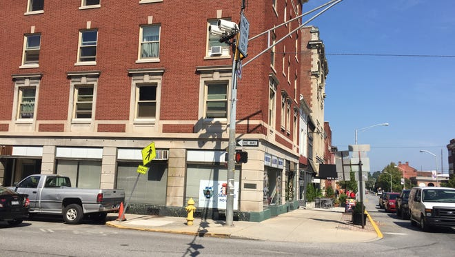York Traditions Bank plans to open a branch at the corner of West Philadelphia and North George streets in downtown York in spring 2018.