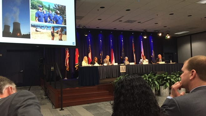 The TVA Board of Directors approved a $10.37 billion budget at its meeting Wednesday.