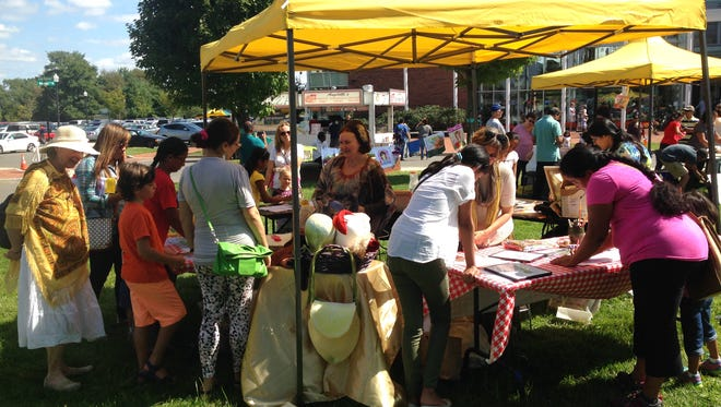 Local artists will take center stage at the Plainsboro Public Library on Saturday, Sept. 16, when the library holds its annual Arts Festival from noon to 4 p.m.