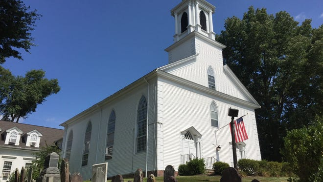 The Presbyterian Church at New Providence was the site of Thursday's funeral service for Jake Tooley, 19, who died in a house fire in Westfield.