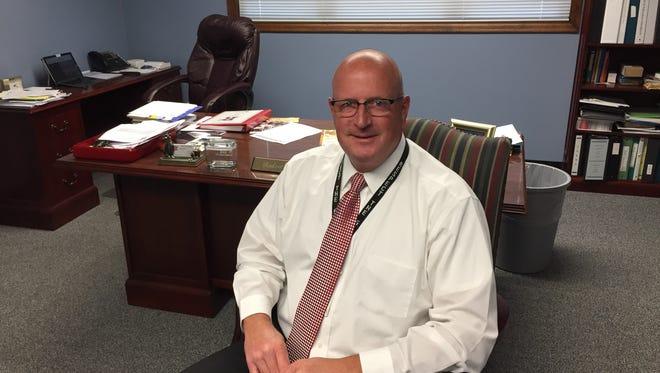Ridgedale superintendent Bob Britton