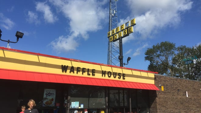 The Waffle House in West Melbourne near Interstate 95 has been very busy since re-opening after Hurricane Irma on Monday.