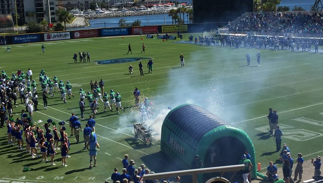 After having its game cancelled last week, UWF will begin its home schedule at Blue Wahoos Stadium on Saturday.