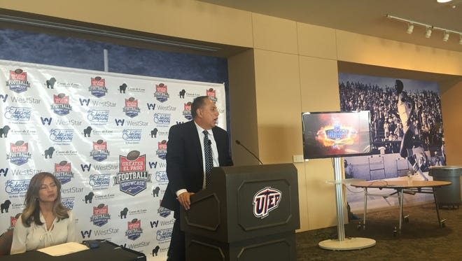 Rick Hernandez, executive director of the Greater El Paso Football Showcase, talks about the changes being made to the All-Star game in December.