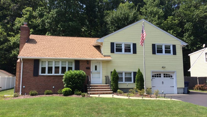 This three-bedroom split level home at 1123 Revere Road in the Colonial Gardens section of North Brunswick, will be open 1 to 4 p.m. Sunday, Sept. 17