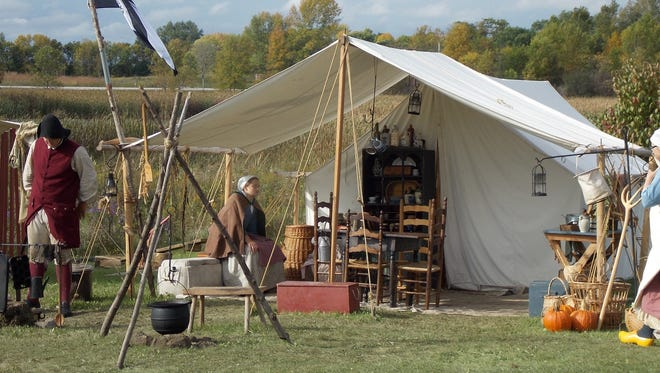 The public is invited to learn more about Wisconsin history during the Fall Living History Festival at Marsh Haven Nature Center Sept. 22-24.