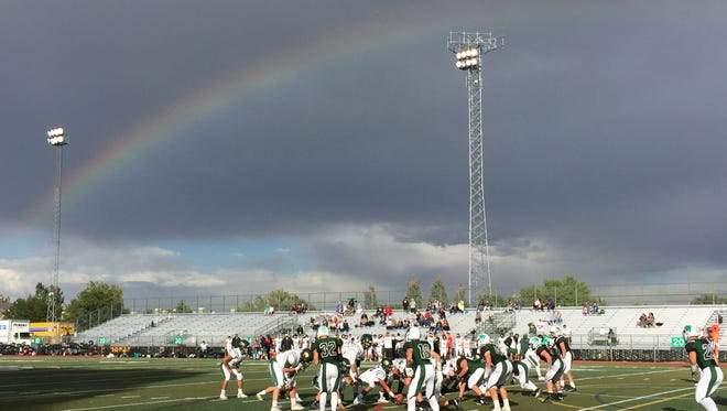 The Fossil Ridge football team lost 36-23 to Bear Creek Friday afternoon at French Field.