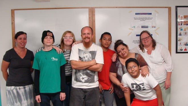 Families participate in Arizona Youth Partnership's Strengthening Families program.