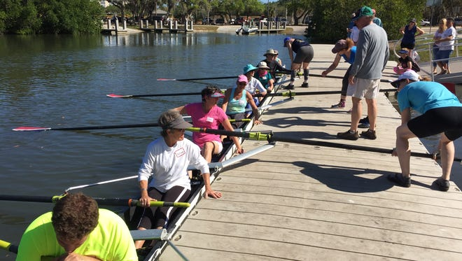 The Vero Beach Rowing Club helps Friends After Diagnosis members practice rowing for wellness and cancer recovery.