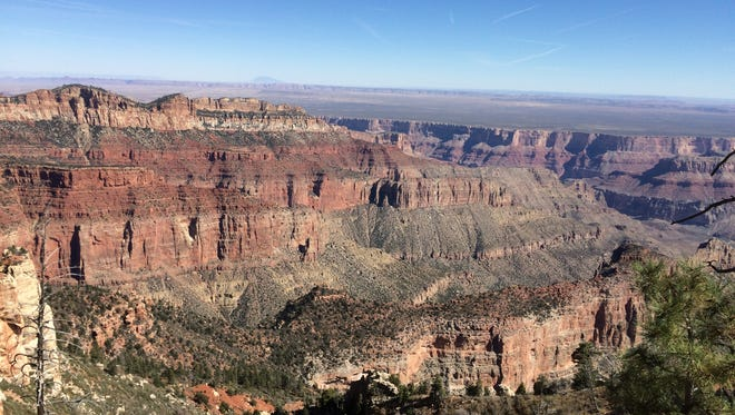 The view from Imperial Point on the North Rim of Grand Canyon National Park.