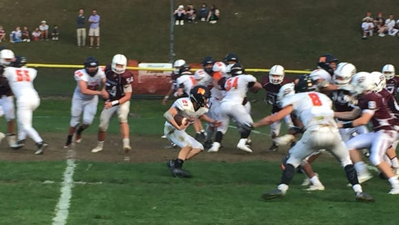 Scarsdale's defense chases down Mamaroneck's Michael