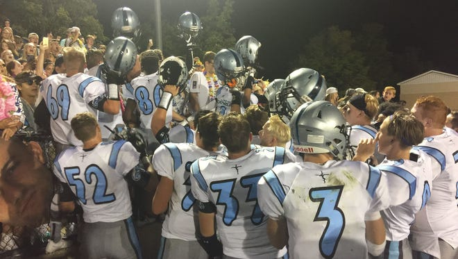 Lansing Catholic student-athletes have been informed they will be disciplined if they kneel during the national anthem.