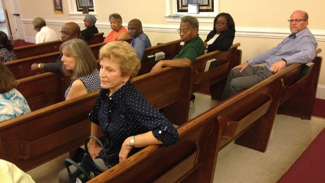 Former Tallahassee City Commissioner Debbie Lightsey, center, says Gateway District plans needs vetting.