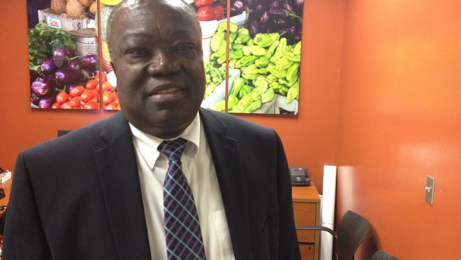 Seth Ablordeppey, interim dean of FAMU's College of Pharmacy and Pharmaceutical Sciences. (Oct. 6, 2017)
