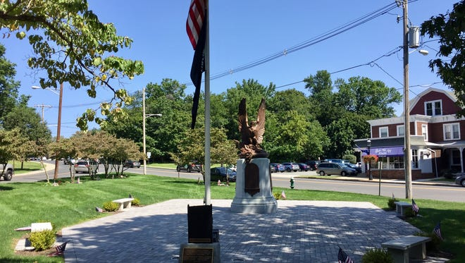 The Morris County 9/11 Memorial in Madison.