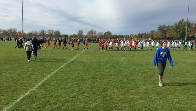St. Cloud Cathedral and St. Cloud Apollo renewed their girls soccer rivalry Saturday at Whitney Park.