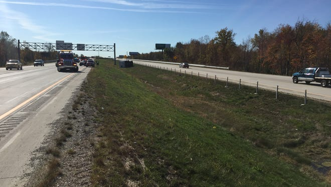 Rescue crews are at a crash on eastbound I-94 in Port Huron Township.