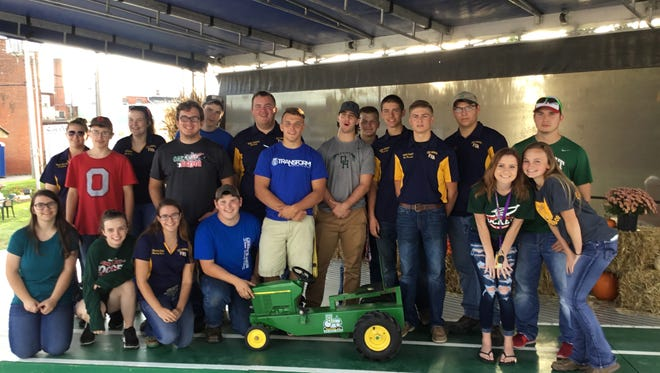 Oak Harbor FFA members hosted a kiddie tractor pull Oct. 14.