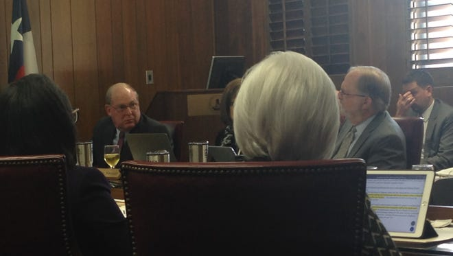 Midwestern State University Board of Regents members discuss a variety of issues Thursday including a change to admissions policy to automatically accept applicants who are in the top 25 percent of their class.