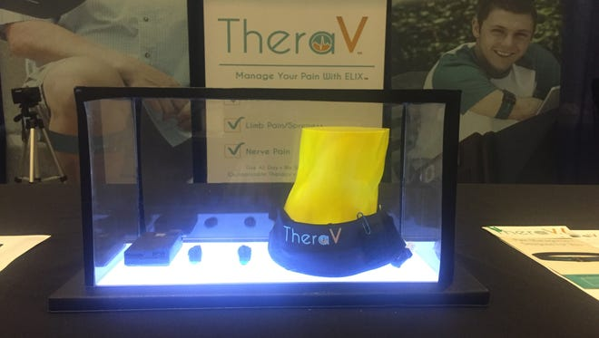 The ELIX from TheraV is an innovative device that aims to help amputees manage pain.