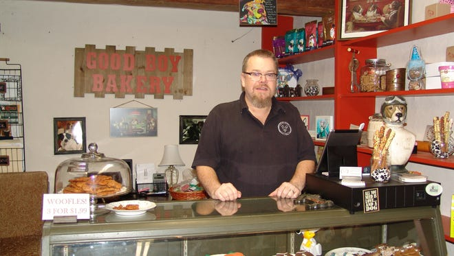 Brad Fuller and his wife, Cathy, own and operate Good Boy Bakery in Roscoe Village. As a  city councilman and member of the Our Town Coshocton, Brad knows the importance of shopping local this holiday season.