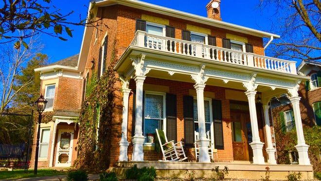 The Lamberson Guest House in Galena, Ill., was built in 1870.