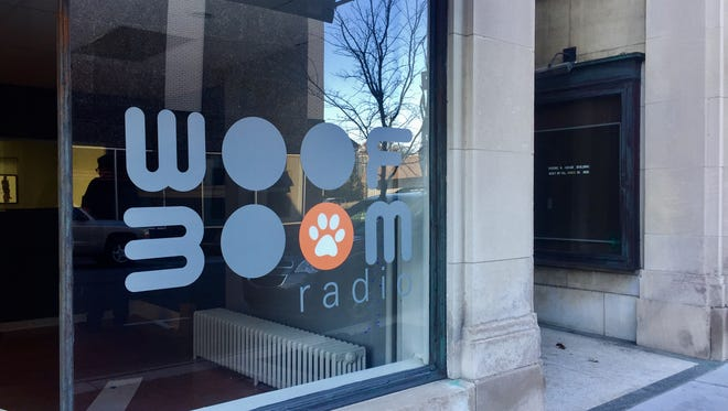 Woof Boom Radio recently moved into a location on Main Street in Lafayette.