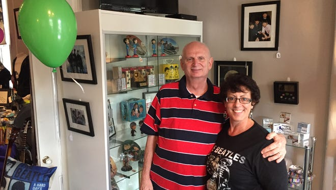 Louisville's Dan and Judy Singleton own Octopus's Garden, one of three brick-and-mortar stores in the world dedicated to the Beatles.