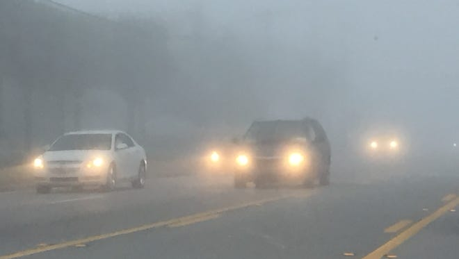 A dense fog advisory has been issued Tuesday morning.