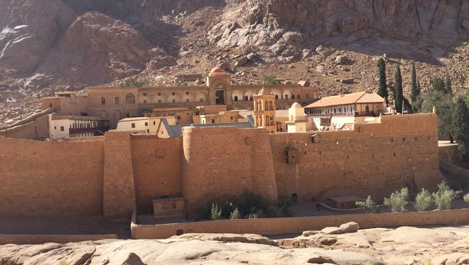 St. Catherine's Monastery in South Sinai, Egypt, traces its roots to the fourth century.