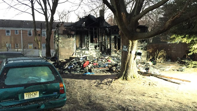 There was practically nothing left of a Ridgefield Drive home after a Jan. 3 fire.
