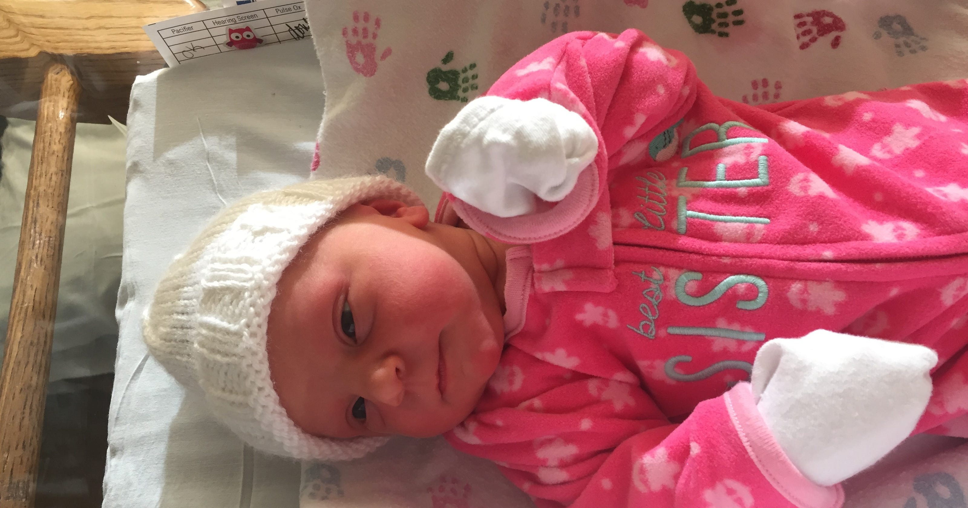 445f38df New Year's baby from Brookfield born at 12:04 a.m.