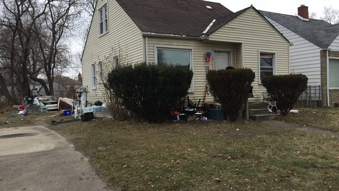 A SWAT team was called to the home on Keystone Wednesday.