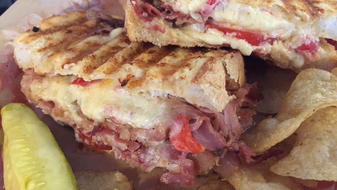 """Wallace Station's Country Ham and Pimento Cheese sandwich is featured on Food Network's """"Best Thing I Ever Ate."""""""
