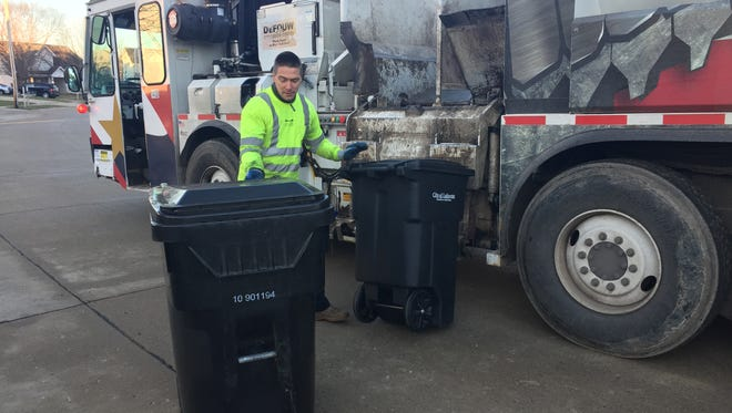 Lafayette is not changing the list of recyclables the city picks up weekly in its curbside program, despite a letter sent to some north end residents in early October, Lafayette Mayor Tony Roswarski said Wednesday, Oct. 23, 2019.