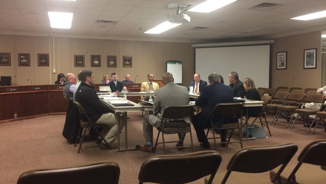 The new version of the Jackson-Madison County Education Foundation held its first meeting at the JMCSS Central Offices on Thursday.