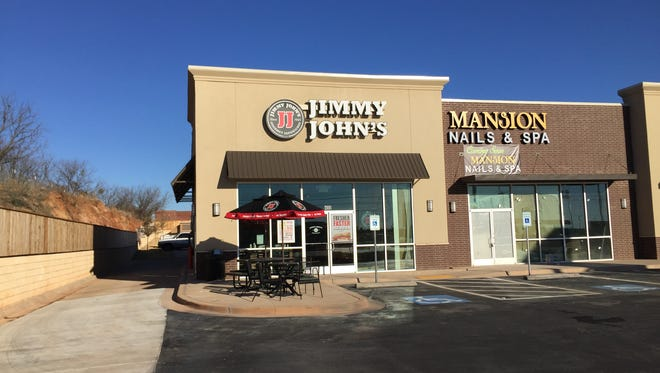 Jimmy John's sandwich shop located at 5770 Sherwood Way is now open.