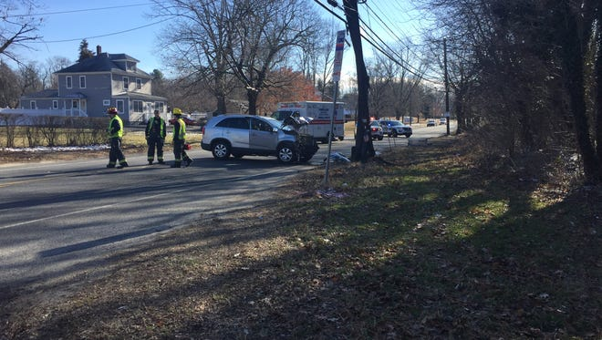 One person was reported injured in Main Road crash on Jan. 31, 2018.