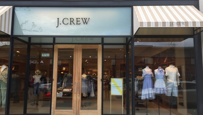 Classic clothing retailer J. Crew has closed its shop at Bayshore Town Center, adding to the list of vacancies there.