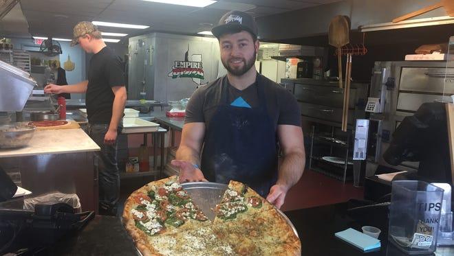 Matt Fournier of Empire Pizza