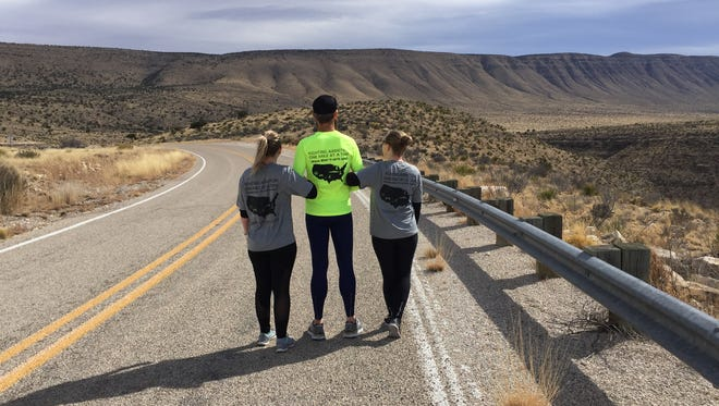 From left to right, Haley Hayes, Darin Dorsett, and Tanja Baca. All were friends of Tamara Ormand, who was 25 years-old when she committed suicide in 2015.